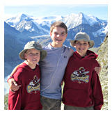 McConnell, Youngest Haute Route Hikers