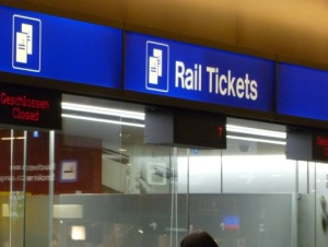 Where to purchase Rail Tickets