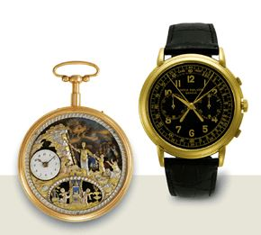 watches from Patek Philippe Museum