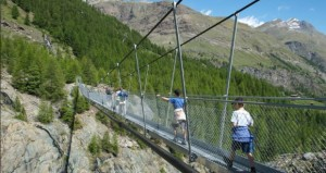 Suspension Bridge - Zermatt