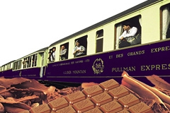Chocolate Train in Switzerland