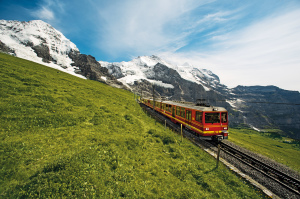 Train to the Jungfraujoch
