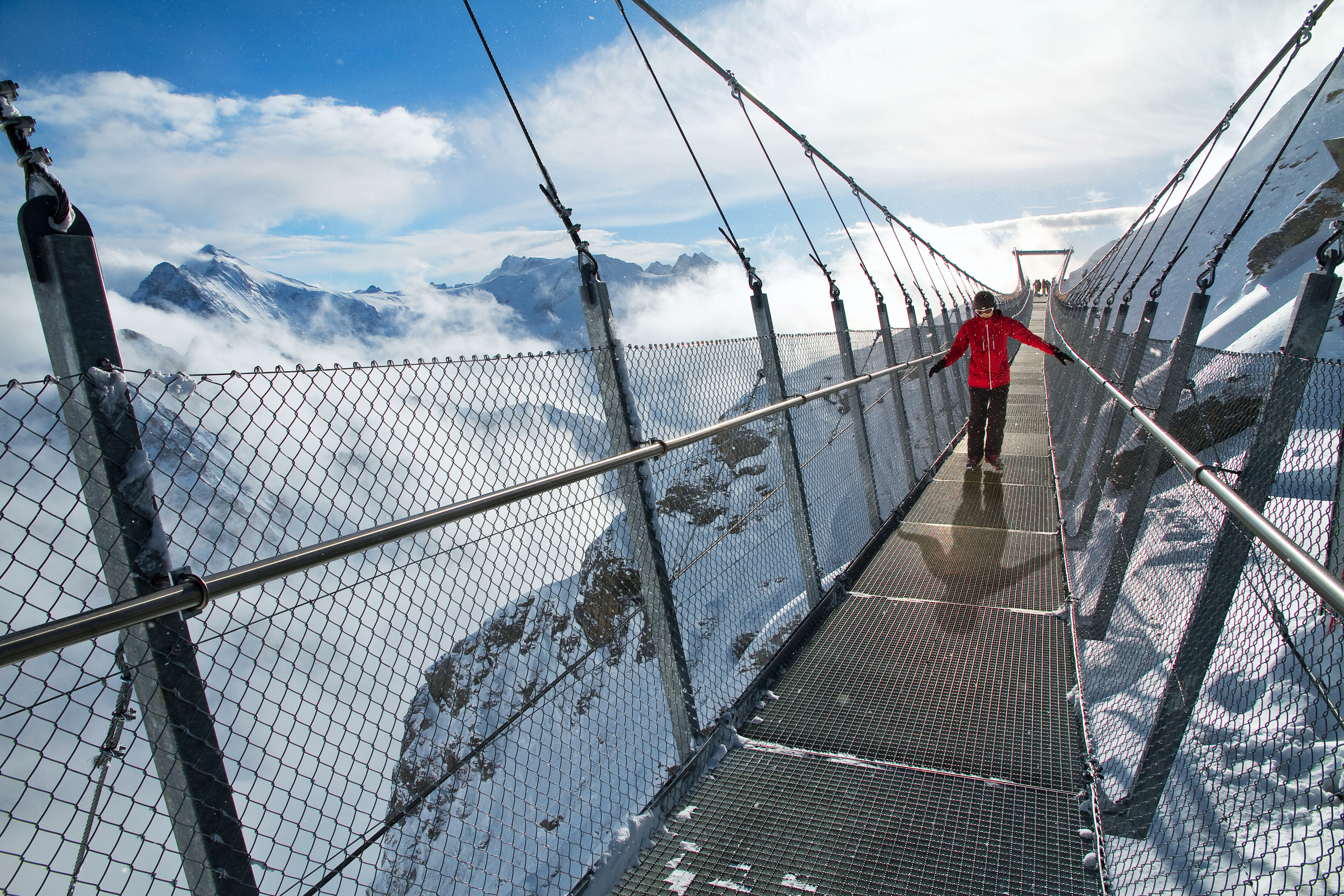 Suspension Bridges in Switzerland