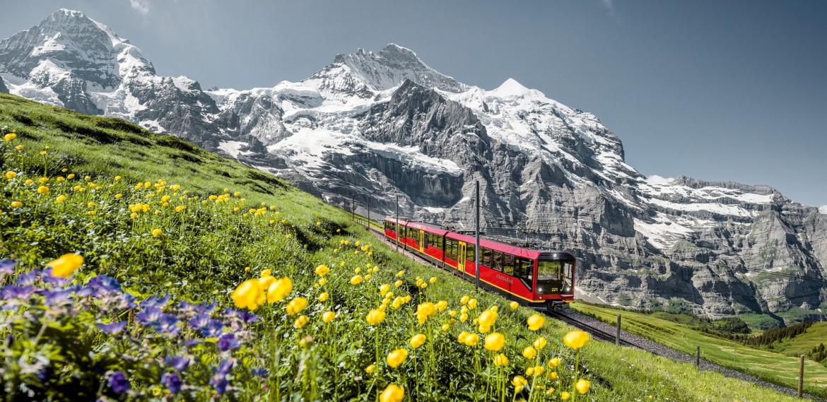 Swiss rail tour