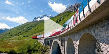 Catch a glimpse of our Scenic Alps by Rail tour and the locations you''''ll visit in Switzerland.