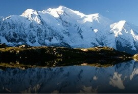 Mont Blanc mountain range