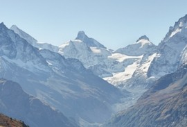 Swiss Alps mountain range