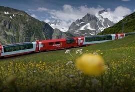 Glacier Express train