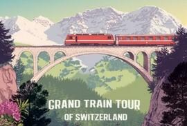 Grand Train Tour of Switzerland logo