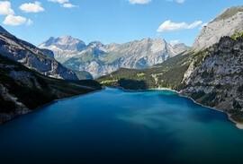 Öeschinensee lake near  Kandersteg