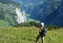 Jungfrau Hiker