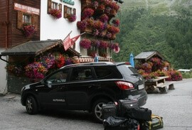 Swiss hotel with luggage transfer