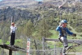 Forest Fun Park in Zermatt
