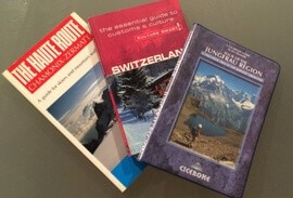 Swiss guidebooks