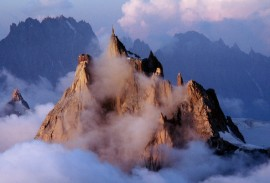 Aiguille du Midi in Chamonix France