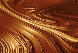 Luscious chocolate swirls