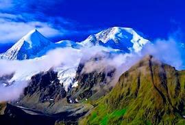 Haute Route mountain range