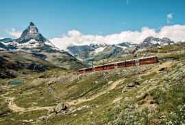 Scenic Alps by Rail