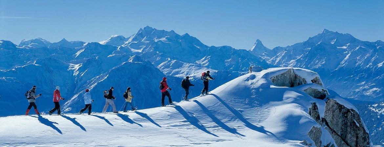 Bettmeralp Snowshoeing