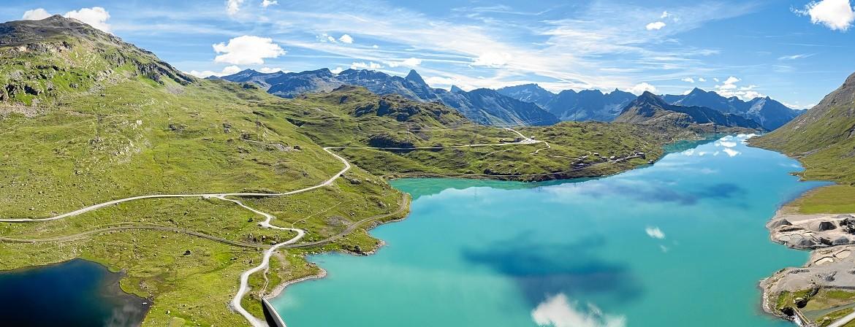 Bernina mountain pass