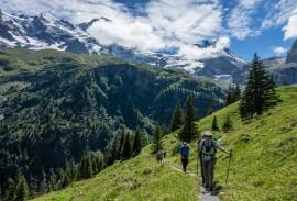 Hiking to Obersteinberg