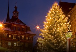 Swiss Holiday lighting