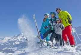 Swiss Family Skiing