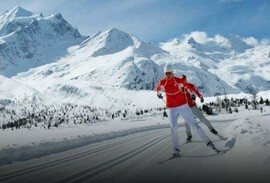 Engadine/ St. Moritz Cross Country Skiing