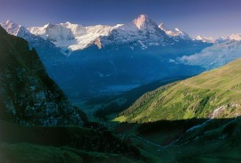 View from Bachalpsee, overlooking Grindelwald