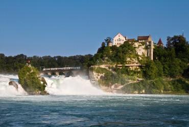 Rhine Falls near Zurich