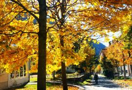 Leukerbad in Autumn