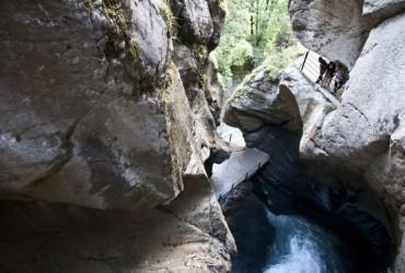 Truemmelbachfalls in Lauterbrunnnen