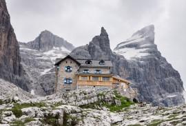 Rifugio Tuckett e Sella in the Dolomites
