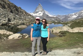 Guides (Nicki and Kate) on the Haute Route  | Photo by guest Michael L