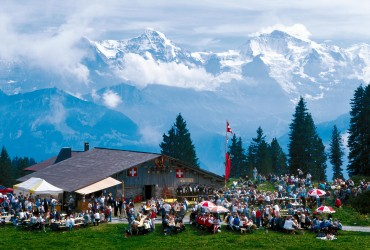 Mountain Alpine festival