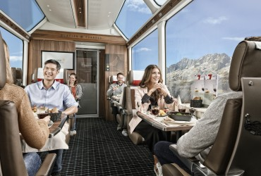 Glacier express - 1st class meal