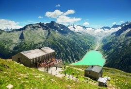 View from Olpererhütte  - courtesy of Zillertal Tourism