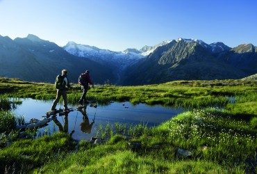Zillertal Alps hiking- courtesy of Zillertal Tourism