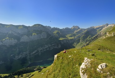 Alpstein Range in Appenzell