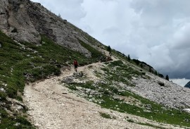 Trail on the Tre Cime loop   Photo by Macie Duncan