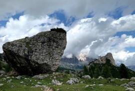 Rocks in the Dolomites