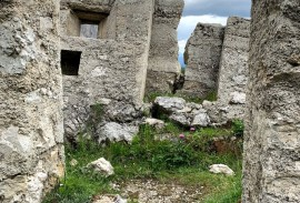 World War 1 fort in the Dolomites   Photo by Macie Duncan