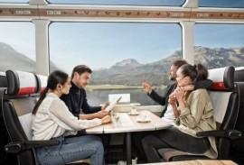 Glacier express - 1st class side view
