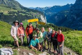 Hiking in the Jungfrau