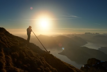 Sunrise on Pilatus Kulm
