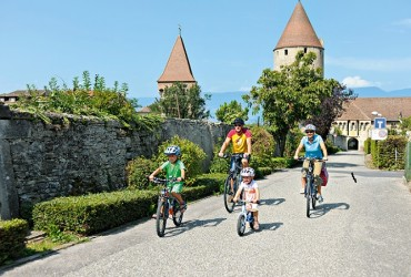 Family Bike Ride on Mittelland Route