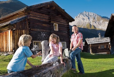 Family on Weisner Alp