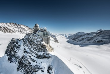 Jungfraujoch with Sphinx, Photo Credit:  Rob Lewis