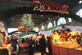 Traditional Swiss Christmas Market