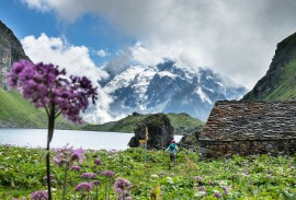 Hiking along the Haute Route